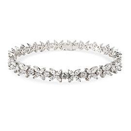 Tiffany & Co. Victoria Diamond Bracelet in Platinum 6.01 CTW