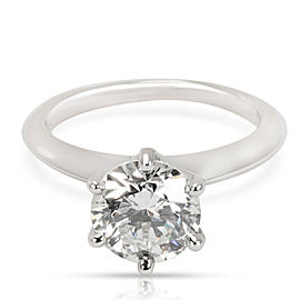 Tiffany & Co. Diamond Engagement Ring in Platinum I VVS2 1.72 CTW