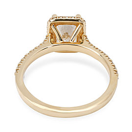James Allen Radiant Diamond Engagement Ring in 14K Gold GIA E VS2 1.91 CTW