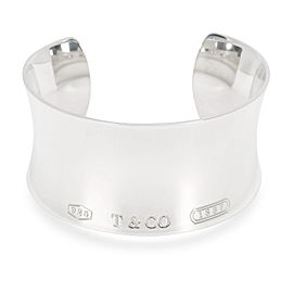 Tiffany & Co. 1837 Cuff in Sterling Silver 30 mm wide
