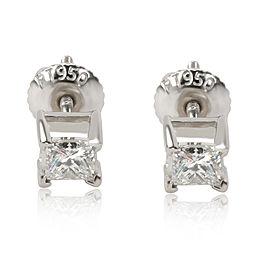 IGI Certified Diamond Stud Earring in Platinum F-G SI2-I1 0.51 CTW