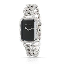 Chanel Premiere H3260 Women's Diamond Watch in 18kt White Gold