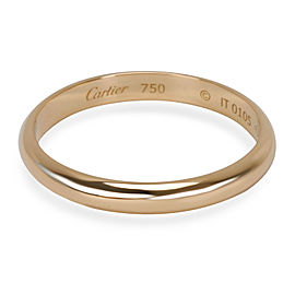 Cartier 1895 Wedding Band in 18K Yellow Gold 2.5mm