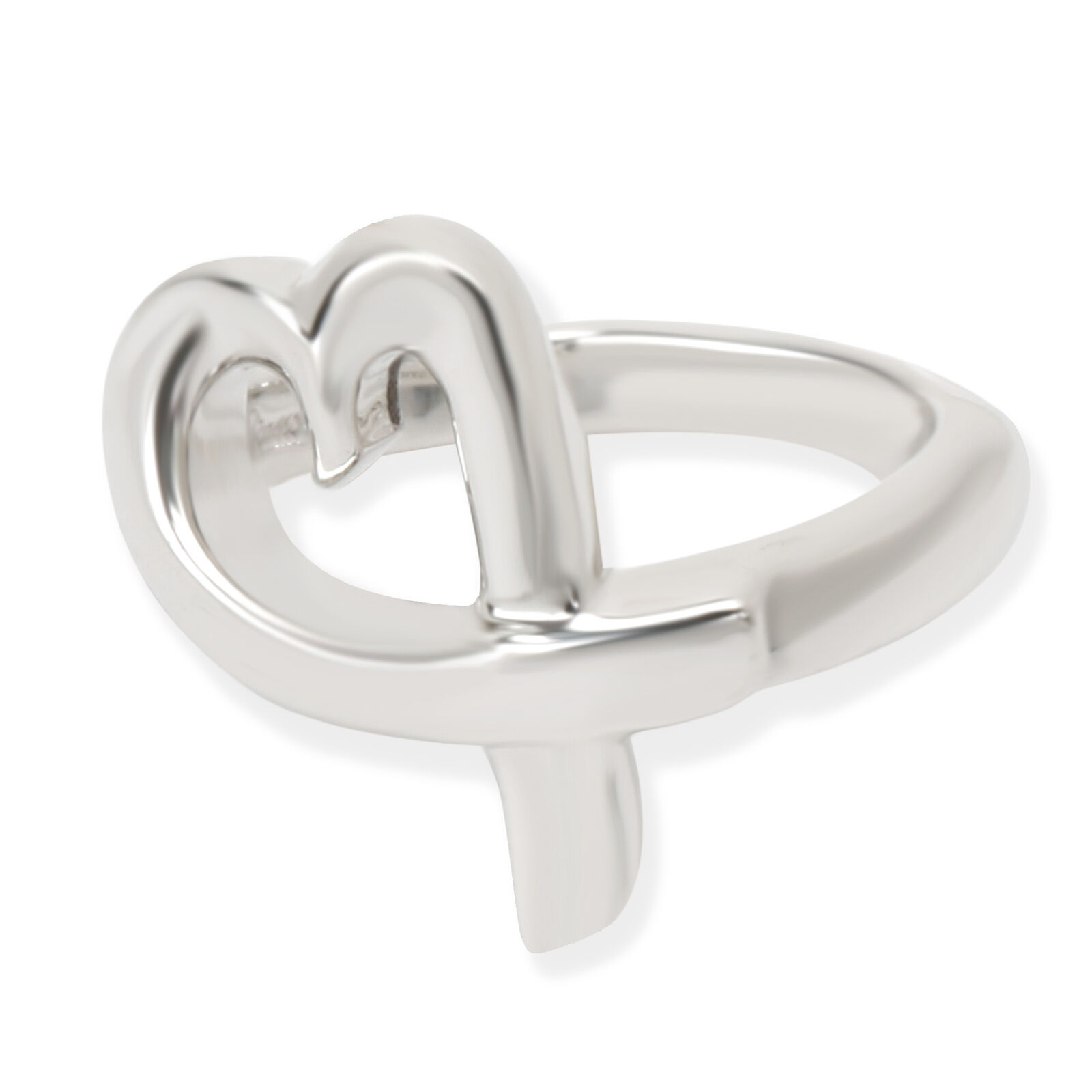 c91affbf25c63 Tiffany & Co. Paloma Picasso Loving Heart Ring in Sterling Silver