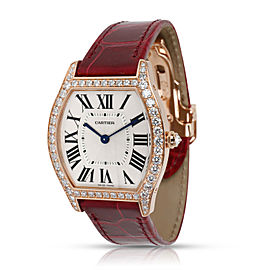 Cartier Tortue WA501008 Unisex Watch in 18kt Rose Gold