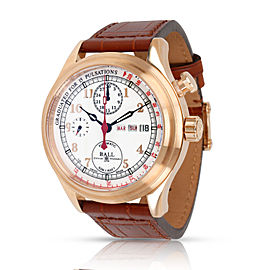 Ball Doctor's Chronograph CM1032D Men's Watch in 18kt Rose Gold