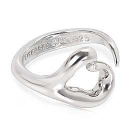 Tiffany & Co. Elsa Peretti Loving Heart Sterling Silver Ring
