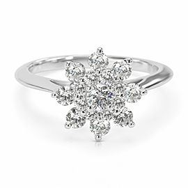 Tiffany & Co. Blooming Flower Ring in Platinum (0.60 CTW)