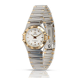 Omega Constellation Quartz 1372.30 Women's Watch in 18kt Stainless Steel/Yellow
