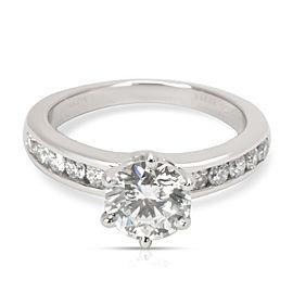 Tiffany & Co. Diamond Engagement Ring in Platinum (I/VS1) 1.48 CTW)