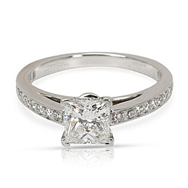 Tiffany & Co. Grace Diamond Engagement Ring in Platinum (0.87 CTW E/VS2)