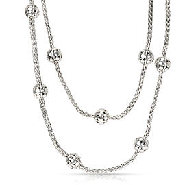 John Hardy Ball Necklace in Sterling Silver