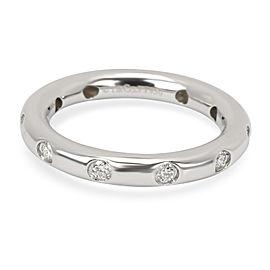 Tiffany & Co. Diamond Bezel Set Band in Platinum (0.27 CTW)