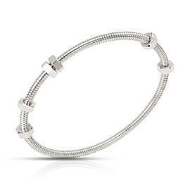 Cartier Ecrou Bangle in 18K White Gold (Size 19)