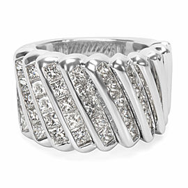 Luca Carati Diamond Fashion Ring in 18K White Gold (4.86 CTW)