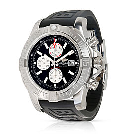 Breitling Super Avenger II A1337111/BC29 Men's Watch In Stainless Steel