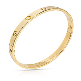 Cartier LOVE Bangle in 18K Yellow Gold Size 19