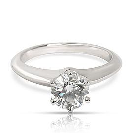 Tiffany & Co. Classic Diamond Engagement Ring in Platinum G VS1 1.03 CTW