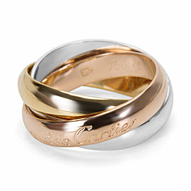 Cartier Trinity Ring in 18KT Tri-Colored Gold