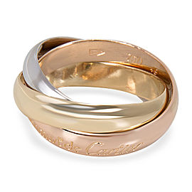 Le Must De Cartier Trinity Ring in 18K Tri-Colored Gold
