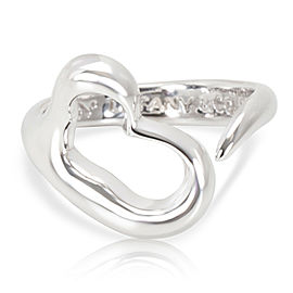Tiffany & Co. Elsa Peretti Loving Heart Sterling Silver Ring