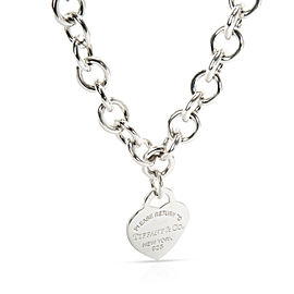 Tiffany & Co. Return to TIffany Necklace in Sterling Silver