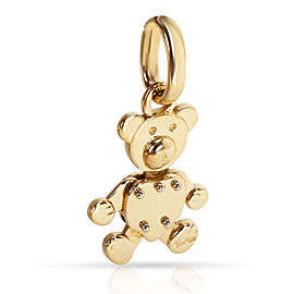 Pomellato Teddy Bear Charm in 18K Yellow Gold