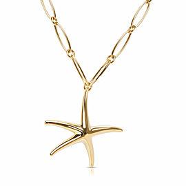 Tiffany & Co. Elsa Peretti Star Fish Necklace in 18K Gold