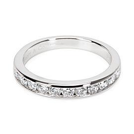 Tiffany & Co. Diamond 3mm Wedding Band in Platinum 0.24 ctw