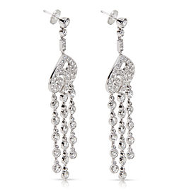 Tiffany & Co. Spade Earrings in Platinum (5.61 CTW)