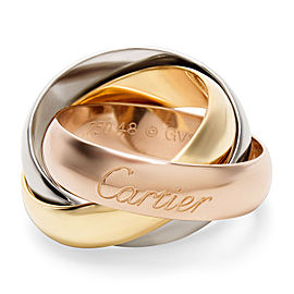 Cartier Trinity Ring in Tri-Color Gold