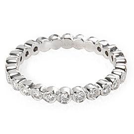 Tiffany & Co. Jazz Bezel Diamond Band in Platinum 3/4 CTW