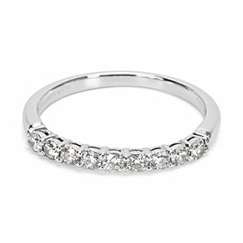 Tiffany & Co. Diamond Wedding Band in Platinum (0.27 CTW)