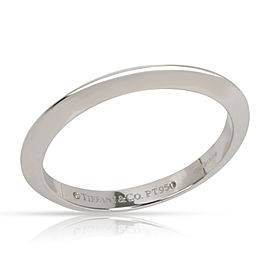 Tiffany & Co. Knife Edge Wedding Band in Platinum 2mm