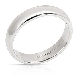 Tiffany & Co. Classic Wedding Band in Platinum 4.5 mm