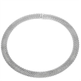 Tiffany & Co. Somerset Mesh Necklace in Sterling Silver