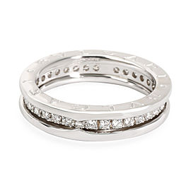 Bulgari B Zero 1 Diamond Band in 18K White Gold 1 CTW