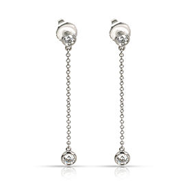 Tiffany & Co. Elsa Peretti Diamond by the Yard Drop Earring in Platinum 0.39 CTW
