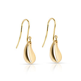 Tiffany & Co. Elsa Peretti Teardrop Earrings in 18K Yellow Gold
