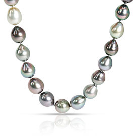 South Sea Baroque Pearl Necklace in Sterling Silver