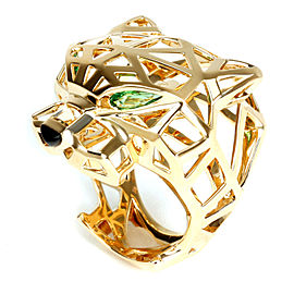 Cartier Panthère de Cartier Ring with Onyx & Tourmaline in 18K Gold