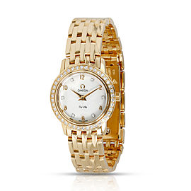 Omega DeVille Prestige 4175.75.00 Women's Watch in 18kt Yellow Gold