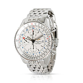 Breitling Navitimer World A2432212/G571 Men's Watch in Stainless Steel