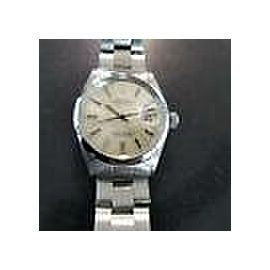 Rolex Vintage 1967 Oyster 1500 Date Automatic 34mm Unisex SS Watch 7 Inch LV217