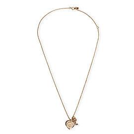 Tiffany & Co. Return to Tiffany Love Heart Tag Key Pendant in 18K Rose Gold