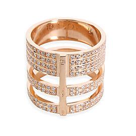 Repossi Berbere Module Diamond Ring in 18K Rose Gold 1.68 CTW