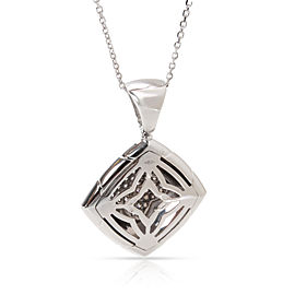 Bulgari Piramide Diamond Pendant in 18K White Gold