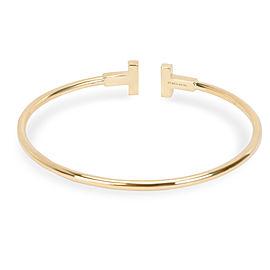 Tiffany & Co. T Wire Bracelet in 18K Yellow Gold