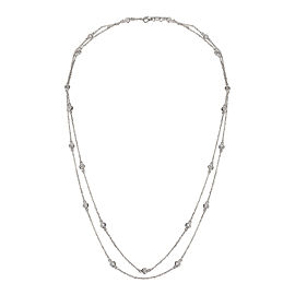 Diamond by the Yard Necklace in 14KT Gold