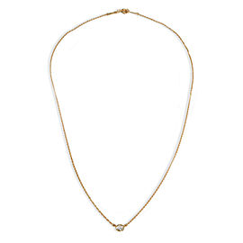 Tiffany & Co. Diamonds by the Yard Diamond Necklace in 18K Yellow Gold 0.30 CTW